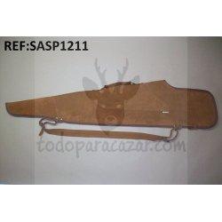 Funda Rifle con Visor en Serraje