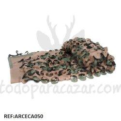 Tela de Camuflaje 3D Verde-Marrón