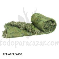 Tela de Camuflaje Fiber Camo Verde