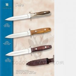 Cuchillo de Monte JOKER CEBRA CC43 CO43 CR43