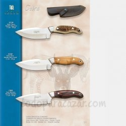 Cuchillo Desollador CEBRA CC39 CO39 CR39