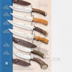 Cuchillo de Monte JOKER ZORRO CC36 CO36 CC35 CO35 CC27 CN27