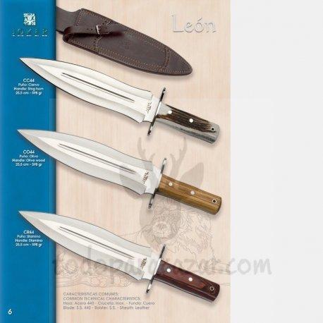 Cuchillo de Remate JOKER LEÓN CC44 CO44 CR44