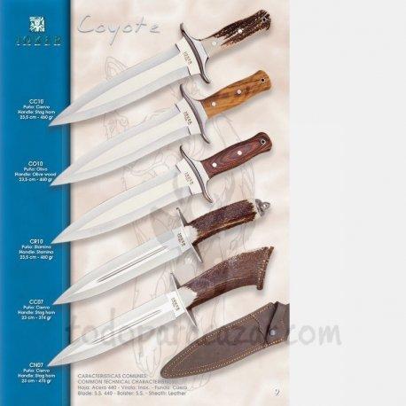 Cuchillo de Remate JOKER COYOTE CC10 CO10 CR10 CC07 CN07