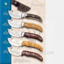 Cuchillo Desollador BISONTE  CC12 CO12 CR12 CO13 CR13