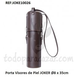 Porta Visores de Piel con Tapa Larga JOKER