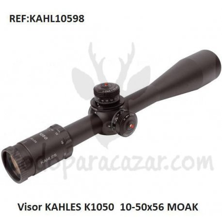 Visor KAHLES K1050  10-50x56 MOAK