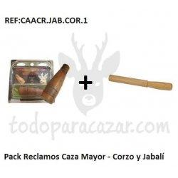 Pack Reclamos Caza Mayor - Corzo y Jabalí