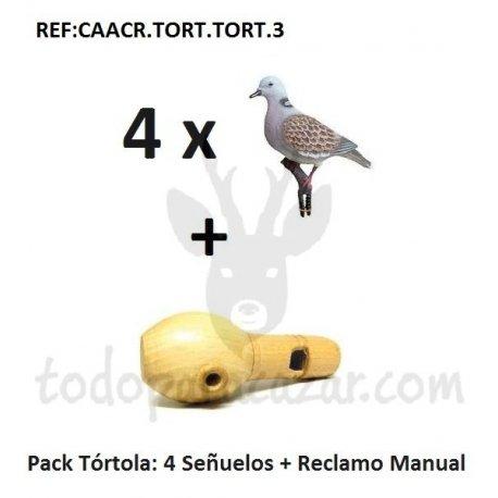 Pack Reclamo Tórtola + Señuelos