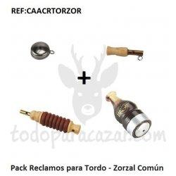 Pack Reclamos para Tordo - Zorzal Común