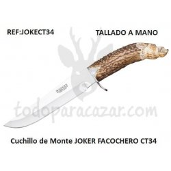 Cuchillo de Monte JOKER FACOCHERO CT34