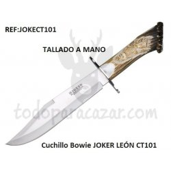 Cuchillo Bowie JOKER LEÓN CT101