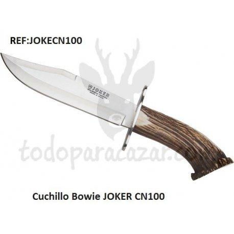 Cuchillo Bowie JOKER CN100