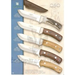 Cuchillo de Monte JOKER OSO CC49,CR49, CO49, CR54, CO54