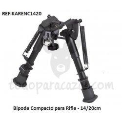 Bípode Compacto para Rifle - 14/20cm