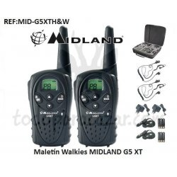 Maletín Walkies MIDLAND G5 XT