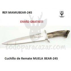 Cuchillo de Remate MUELA BEAR-24S