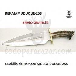 Cuchillo de Remate MUELA DUQUE-25S