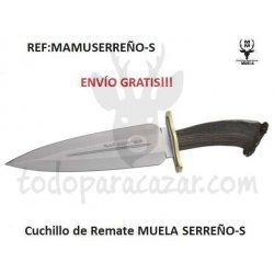 Cuchillo de Remate Muela SERREÑO-S