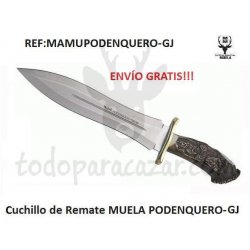 Cuchillo de Remate Muela PODENQUERO-GJ