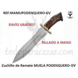 Cuchillo de Remate Muela PODENQUERO-GV