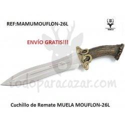 Cuchillo MUELA MUFLON-26L