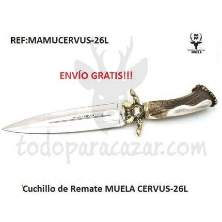 Cuchillo MUELA CERVUS-26L