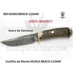 Cuchillo MUELA BRACO-11DAM