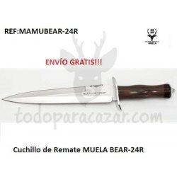 Cuchillo de Remate MUELA BEAR-24R