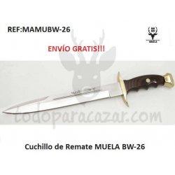 Cuchillo de Remate MUELA BW-26