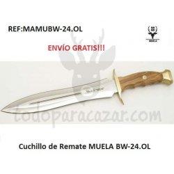 Cuchillo de Remate MUELA BW-24.OL