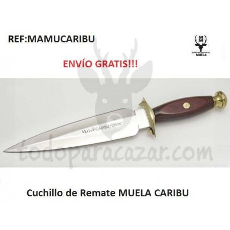 Cuchillo de Remate MUELA CARIBU