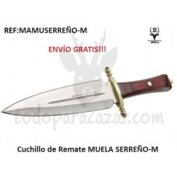 Cuchillo de Remate Muela SERREÑO-M