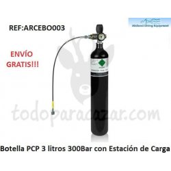 Botella PCP 300Bar - 3 litros