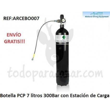 Botella Recarga PCP 7 litros - 300bar