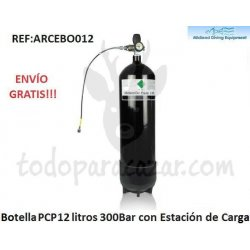 Botella PCP 12 litros - 300bar