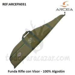 Funda Rifle con Visor - 100% Algodón