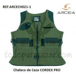 Chaleco de Caza CORDEX PRO Verde