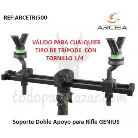 Soporte doble Apoyo para Rifle GENIUS