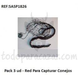 Red para Capturar Conejos - Pack 3 ud.