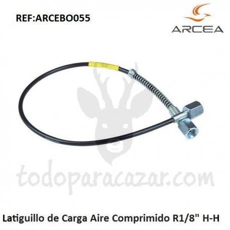 """Latiguillo de Carga Aire Comprimido R1/8"""" H-H"""