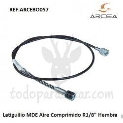 """Latiguillo MDE Aire Comprimido R1/8"""" Hembra"""