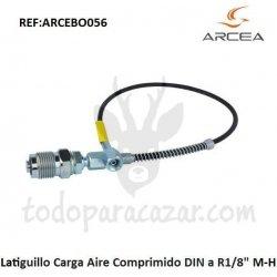 """Latiguillo Carga Aire Comprimido DIN a R1/8"""" M-H"""