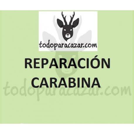 Reparación Carabina