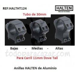 Anillas HALTEN Aluminio 25,4mm