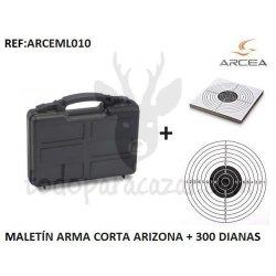 Maletín para Arma Corta ARIZONA + 300 Dianas