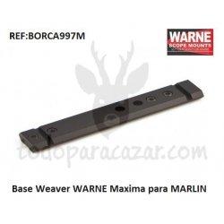 Base WARNE Maxima para MARLIN