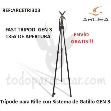Trípode para Rifle con Sistema de Gatillo GEN 3