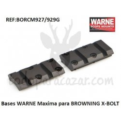 Base WARNE Maxima para BROWNING X-BOLT