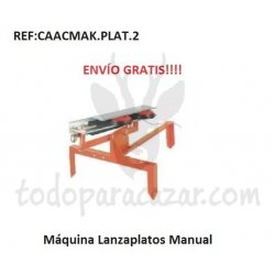 Máquina Lanzaplatos Manual